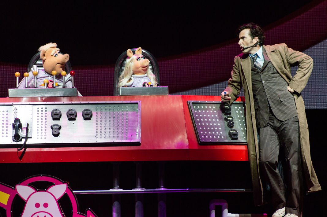 David Tennant and Pigs in Space at The Muppets perform their full length live show for the first time ever in Europe.