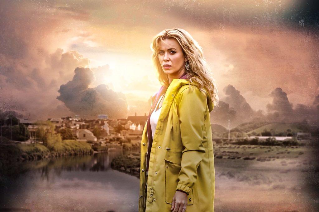 Keeping Faith - Eve Myles as Faith Howells - Artwork by Thomas Chapman