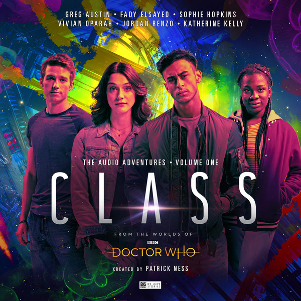 Big Finish - The Class - Volume 1 - Artwork by Stuart Manning - (c) Big Finish
