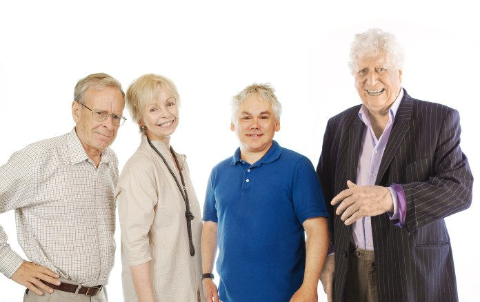 John Leeson, Lalla Ward, Matthew Waterhouse and Tom Baker - (c) Big Finish