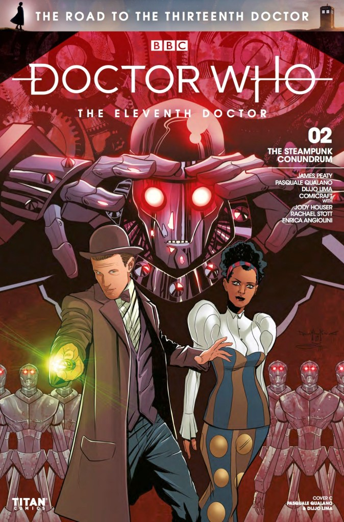 Doctor Who: The Road to the Thirteenth Doctor #2 - The Eleventh Doctor Cover C (c) Titan Comics, BBC
