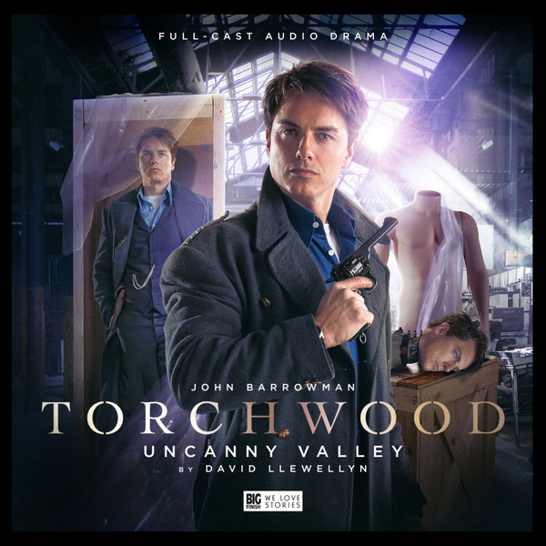 Torchwood: Uncanny Valley. Cover by Lee Binding (c) Big Finish Productions