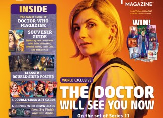 Doctor Who Magazine 530 - Special Deluxe Edition