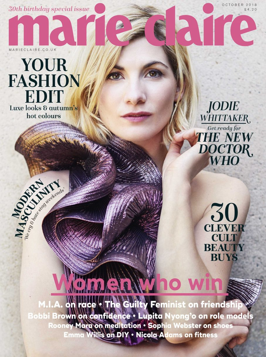 Maire Claire Cover - October 2018 - Jodie Whittaker