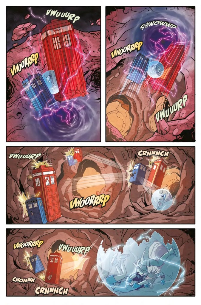 Tenth Doctor 3.14 Page 6. Art by Giorgia Sposito. (c) BBC