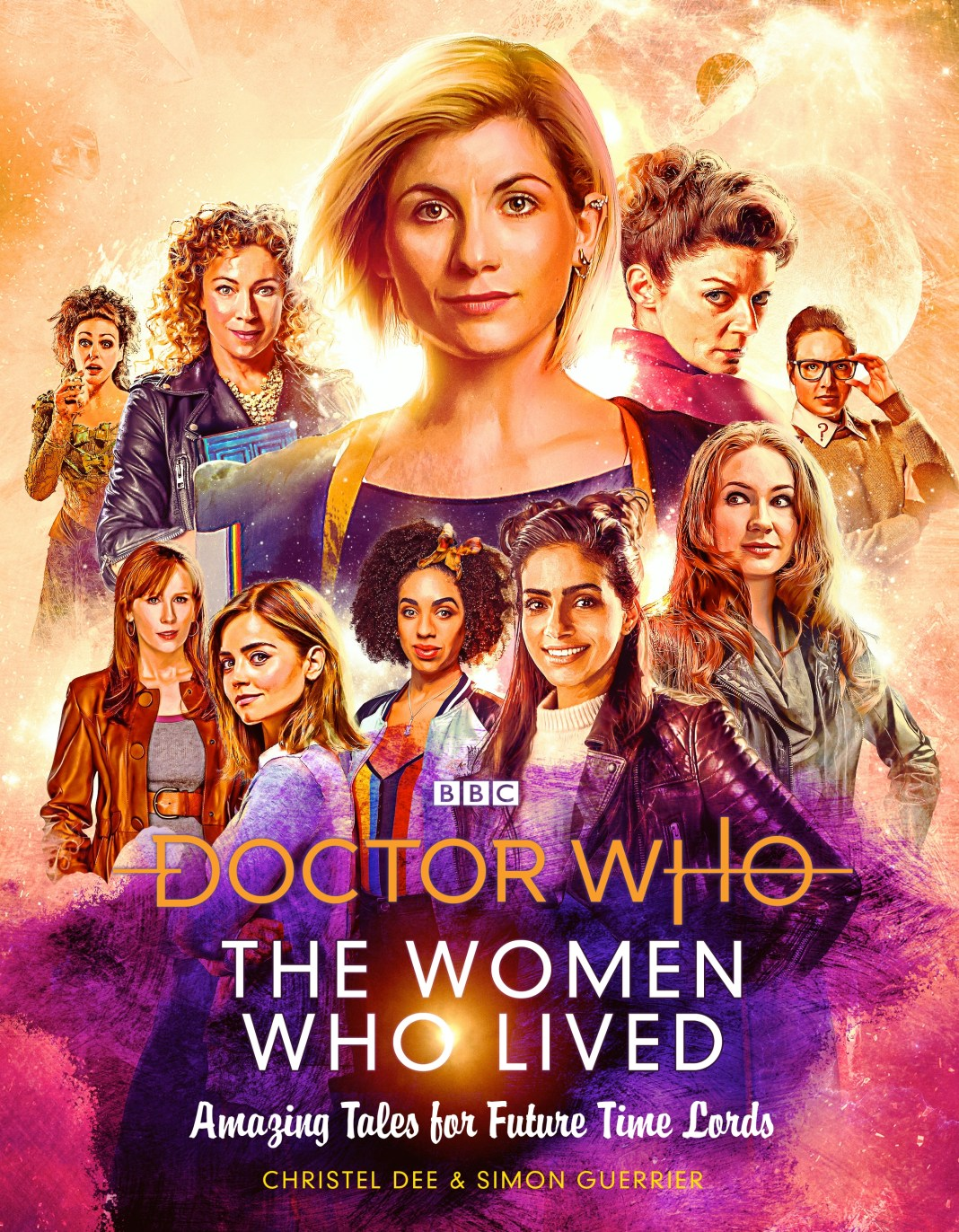Doctor Who: The Women Who Lived - Tales for Future Time Lords. Cover by Lee Binding (c) BBC Books