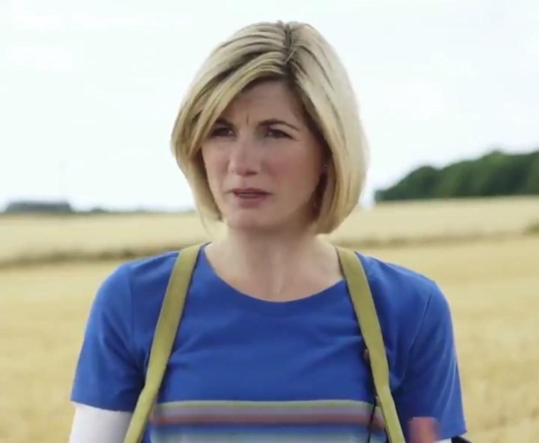 Jodie Whittaker (The Doctor) interviewed on location (c) BBC