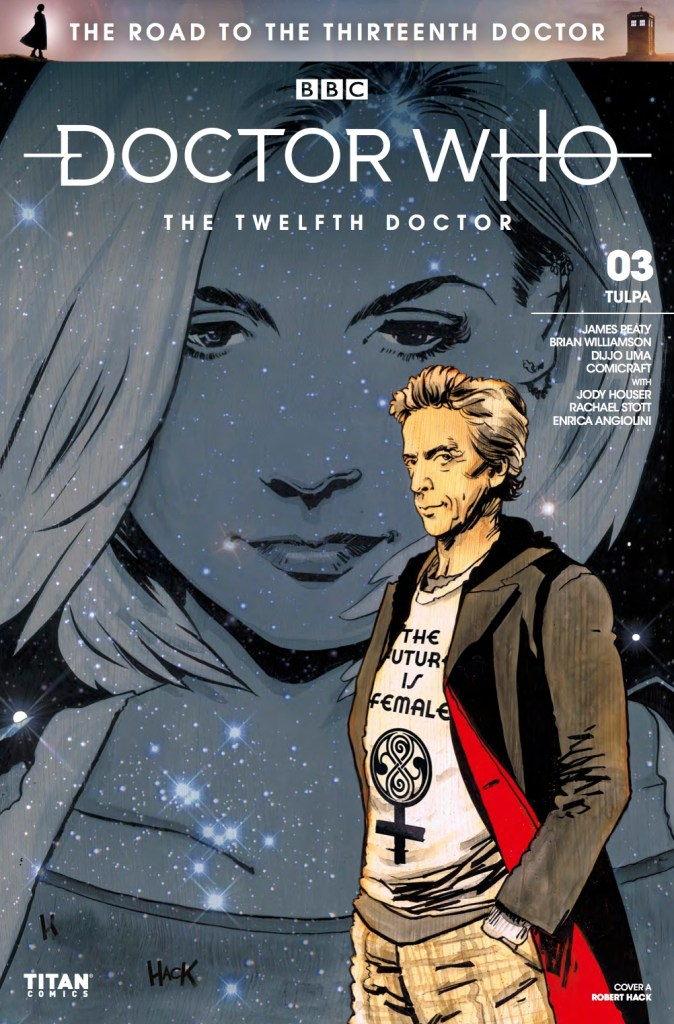 The Road to the Thirteenth Doctor Cover A by Robert Hack (c) BBC