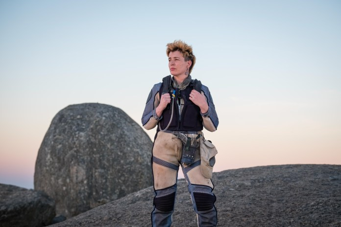 Doctor Who - Series 11 - Ep2 - The Ghost Monument - Angstrom (SUSAN LYNCH) - (C) BBC / BBC Studios - Photographer: Coco Van Opens
