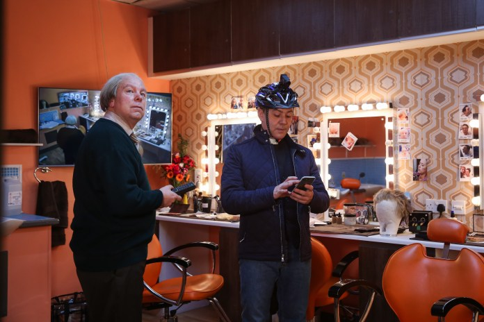 Inside No 9 - Steve Pemberton, Reece Shearsmith - (C) BBC - Photographer: Sophie Mutevelian