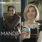 Doctor Who - Accent Challenge - Mandip Gill & Jodie Whittaker - (c) BBC Studios