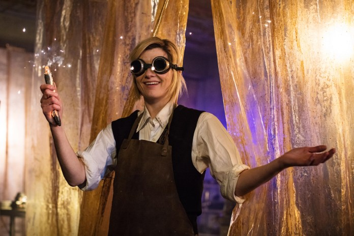 Doctor Who - Series 11 - Episode 1 -The Doctor (JODIE WHITTAKER) - (C) BBC/BBC Studios - Photographer: Sophie Mutevilian