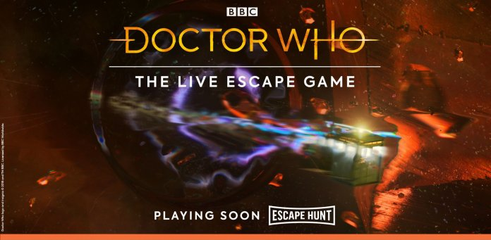 Doctor Who: The Live Escape Game is coming soon from Escape Hunt (c) BBC Studios/Escape Hunt