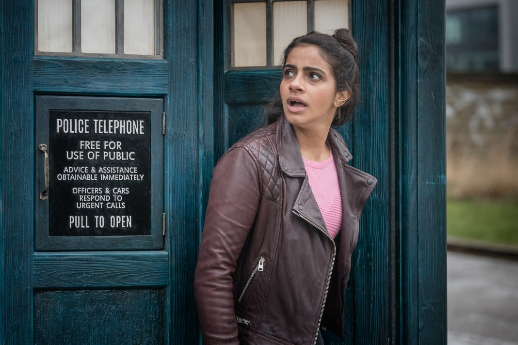 Doctor Who - Series 11 - Ep 4 - Arachnids in the UK - Yaz (MANDIP GILL) - (c) BBC Studios