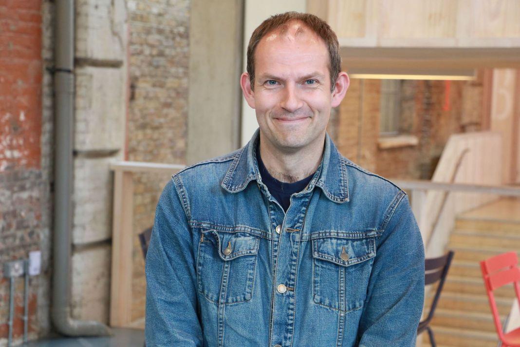 Comic book writer and short film maker James Peaty (c) James Peaty