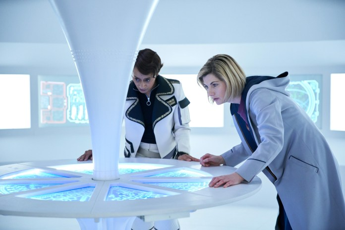 Doctor Who - Series 11 - Ep 5 - The Tsuranga Conundrum - Suzanna Parker and Jodie Whittaker - c BBC Studios