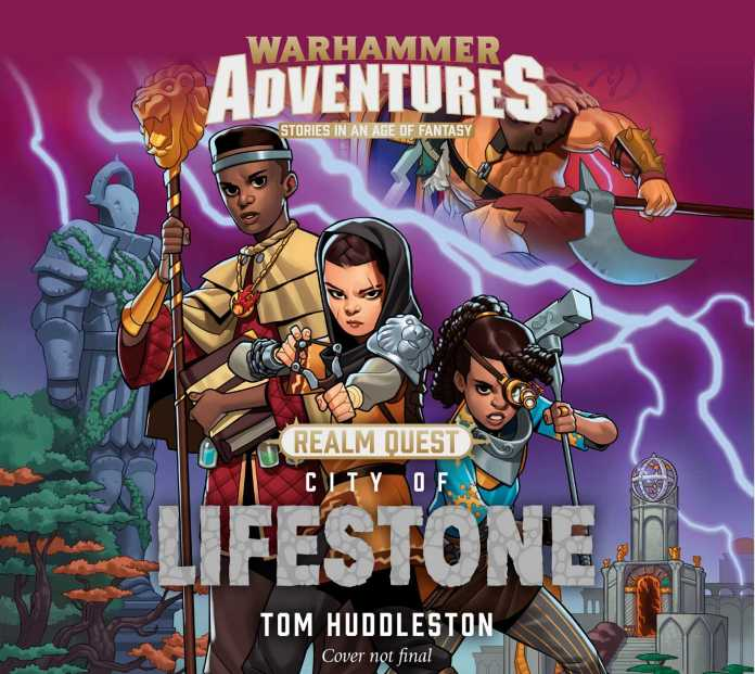 City of Lifestone. Cover by Cole Marchetti and Magnus Norén (c) The Black Library