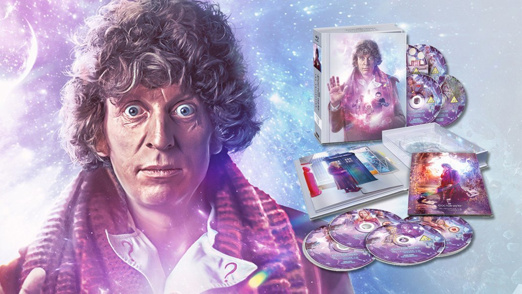 Doctor Who: The Collection - The Complete Season 18 cover art and box packaging. Art by Lee Binding. (c) BBC Studios
