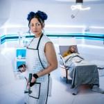 Doctor Who – Series 11 – Ep 5 – The Tsuranga Conundrum - Mabil (LOIS CHIMIMBA), Ryan (TOSIN COLE) - (c) BBC Studios