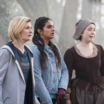 Doctor Who Series 11 - Episode 8 - The Witchfioders - The Doctor (JODIE WHITTAKER), Yaz (MANDIP GILL), Willa Twiston (TILLY STEELE)