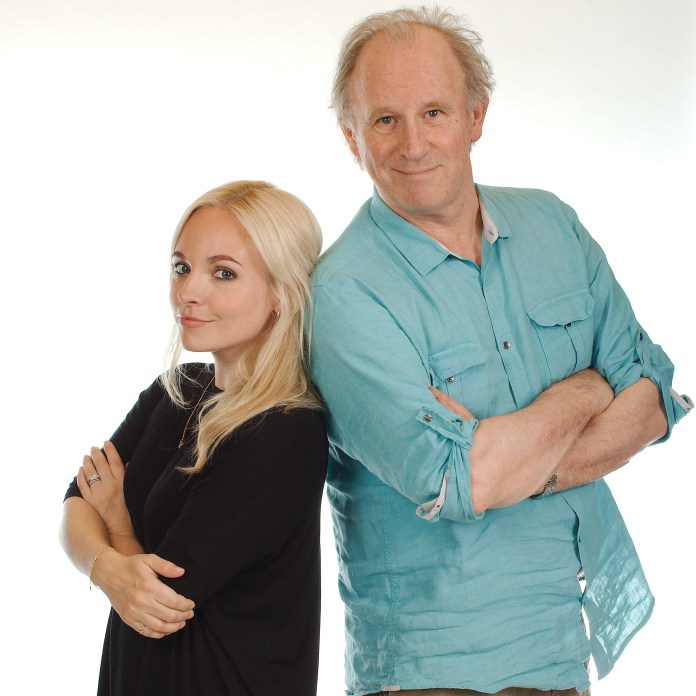Georgia Tennant and Peter Davison (c) Big Finish
