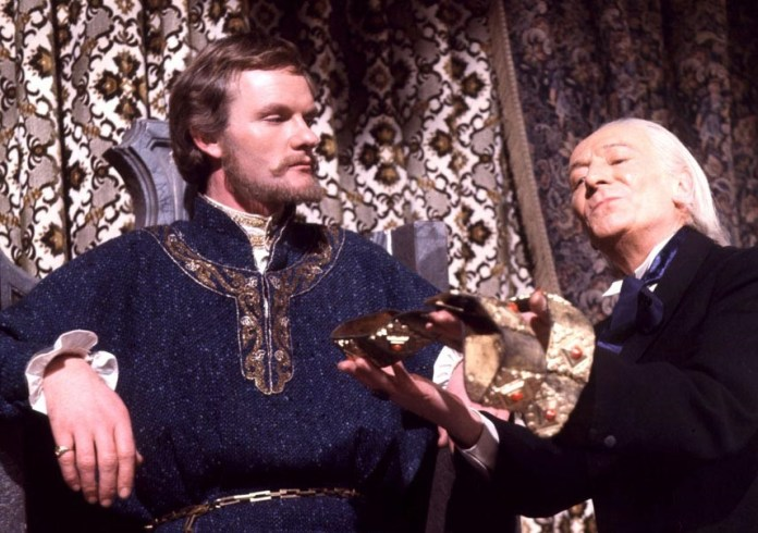 The Doctor (William Hartnell) enountered Richard I (Julian Glover) in The Crusade (c) BBC Studios