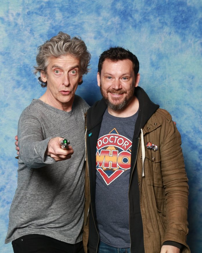 The day I met the Twelfth Doctor!