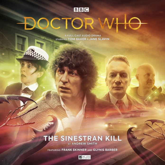 Doctor Who: The Sinestran Kill. Cover by Anthony Lamb (c) Big Finish