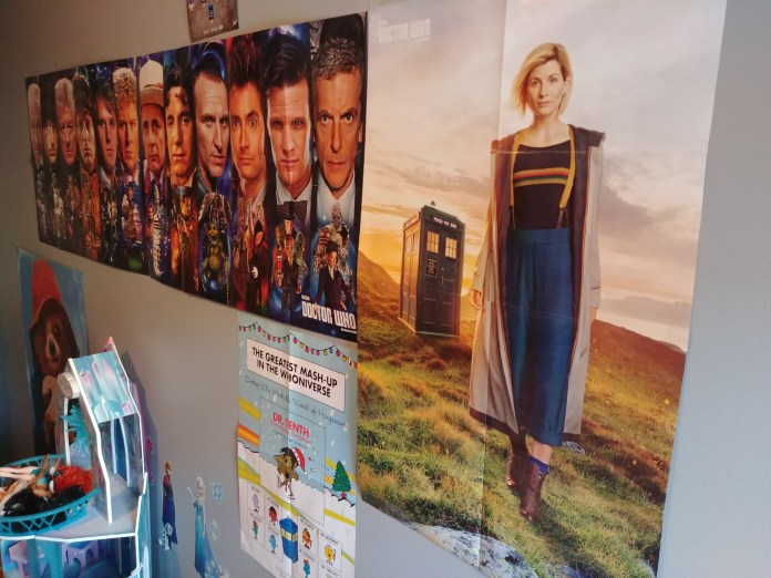 Wall of DW posters