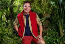 John Barrowman, competing in the 2019 season of I'm a Celebrity Get Me Out of Here (c) ITV