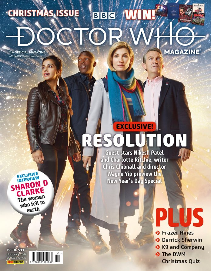 The cover to DWM #533 (c) Panini