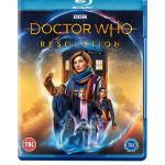 Doctor Who: Resolution. Blu-Ray Cover (c) BBC Studios