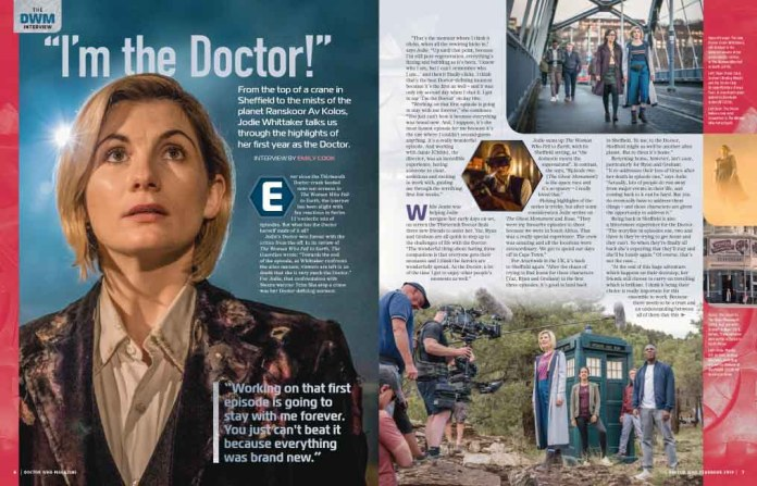 Doctor Who Magazine 2019 Yearbook - Jodie Whittaker Interview