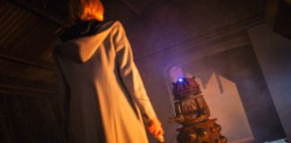 Doctor Who - Resolution - The Doctor (JODIE WHITTAKER) & Dalek - (C) BBC / BBC Studios - Photographer: James Pardon