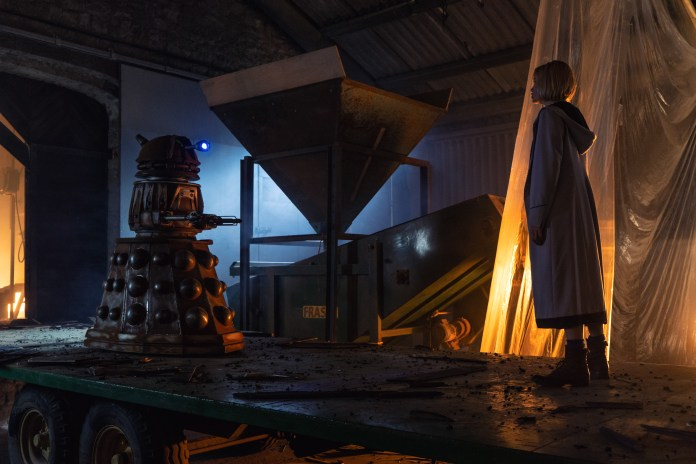 Doctor Who - Resolution - The Doctor (JODIE WHITTAKER) - (C) BBC / BBC Studios - Photographer: James Pardon
