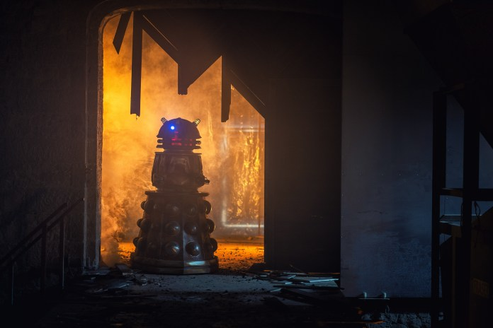 Doctor Who - Resolution - Dalek - (C) BBC / BBC Studios - Photographer: James Pardon
