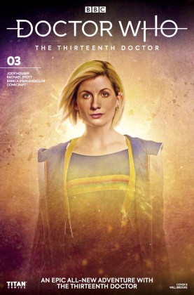 Titan Comics - Doctor Who: The Thirteenth Doctor #3 - Cover B: Will Brooks