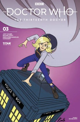Titan Comics - Doctor Who: The Thirteenth Doctor #3 - Cover C: Rachael Smith