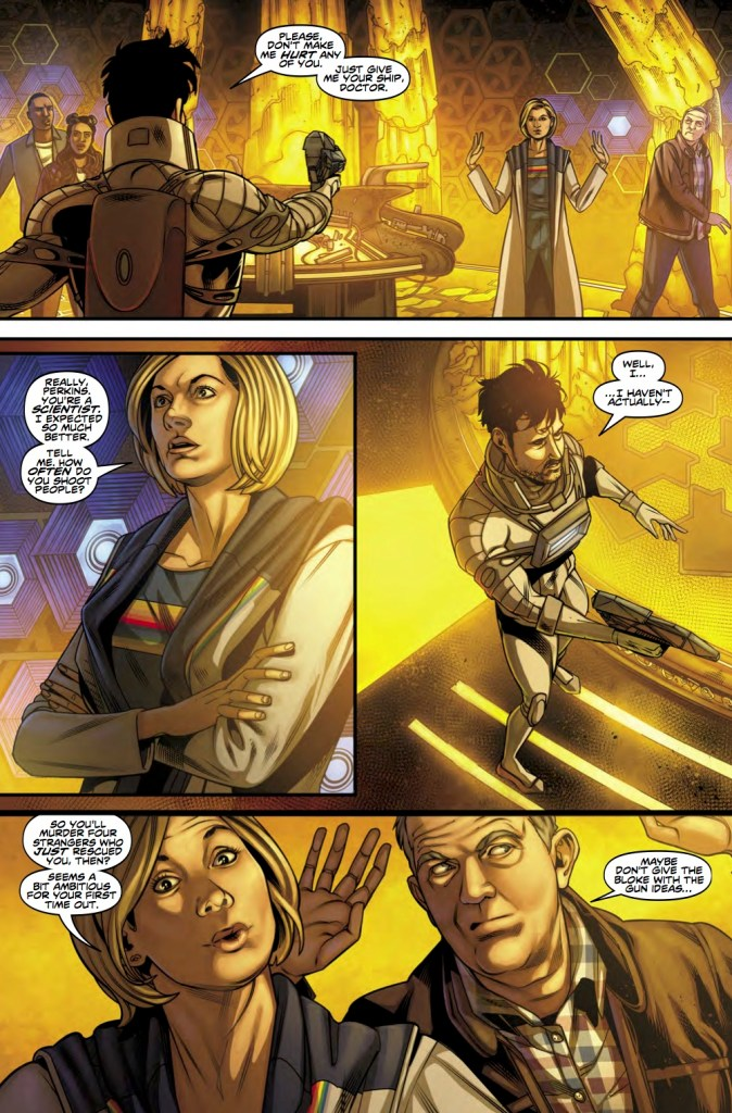 Titan Comics - Doctor Who: The Thirteenth Doctor #3 - Preview 1
