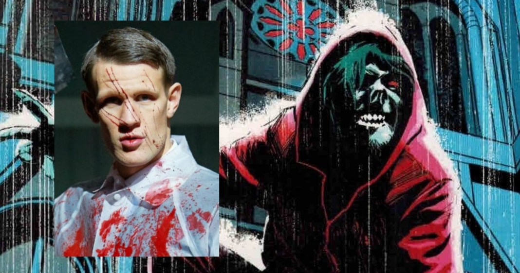 Matt Smith has joined the cast of SUMC film Morbius, Morbius art by Tomm Coker (c) Marvel Comics