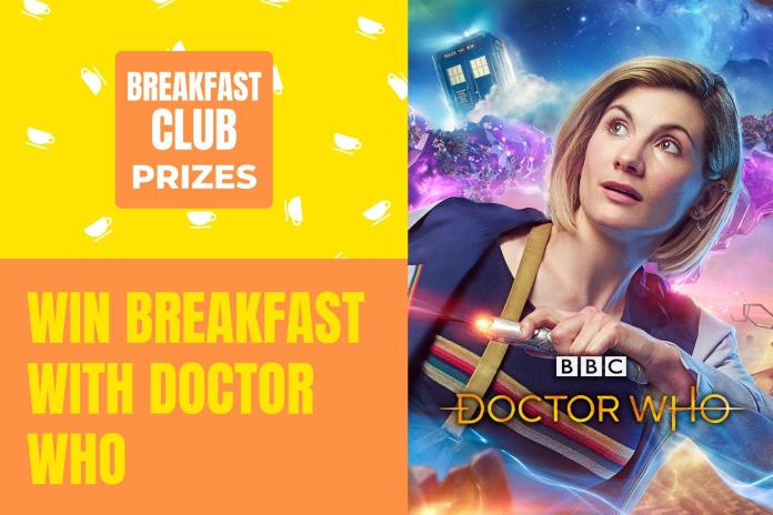 Red Nose Day 2019 includes the chance for a lucky fan and a friend to win breakfast with Jodie Whittaker and Mandip Gill (c) Comic Relief/BBC Studios