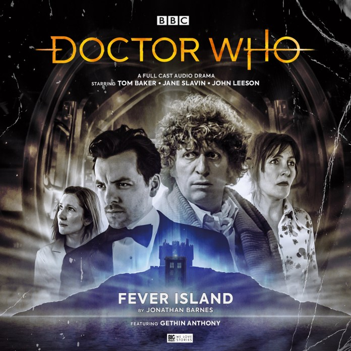 Cover to the Fourth Doctor Adventures: Fever Island by Anthony Lamb (c) Big Finish