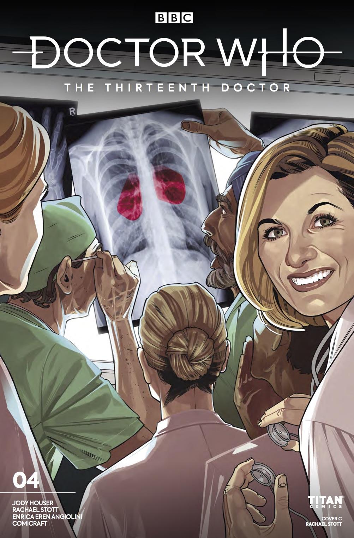 Titan Comics - Doctor Who: The Thirteenth Doctor #4 - Cover C: Rachael Stott