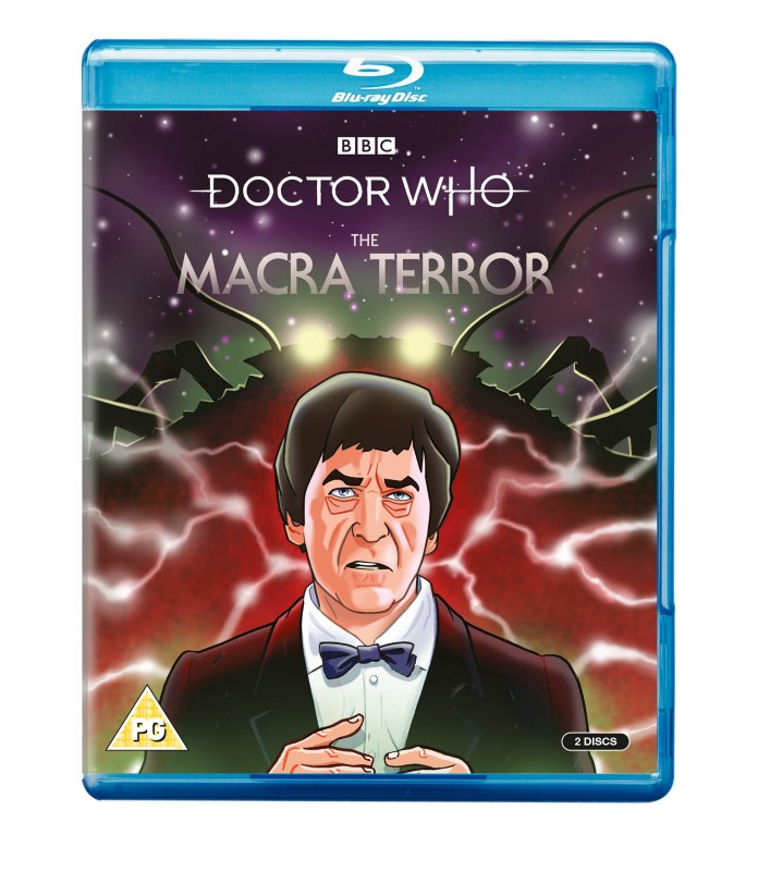Doctor Who: The Macra Terror Blu-Ray cover (c) BBC Studios