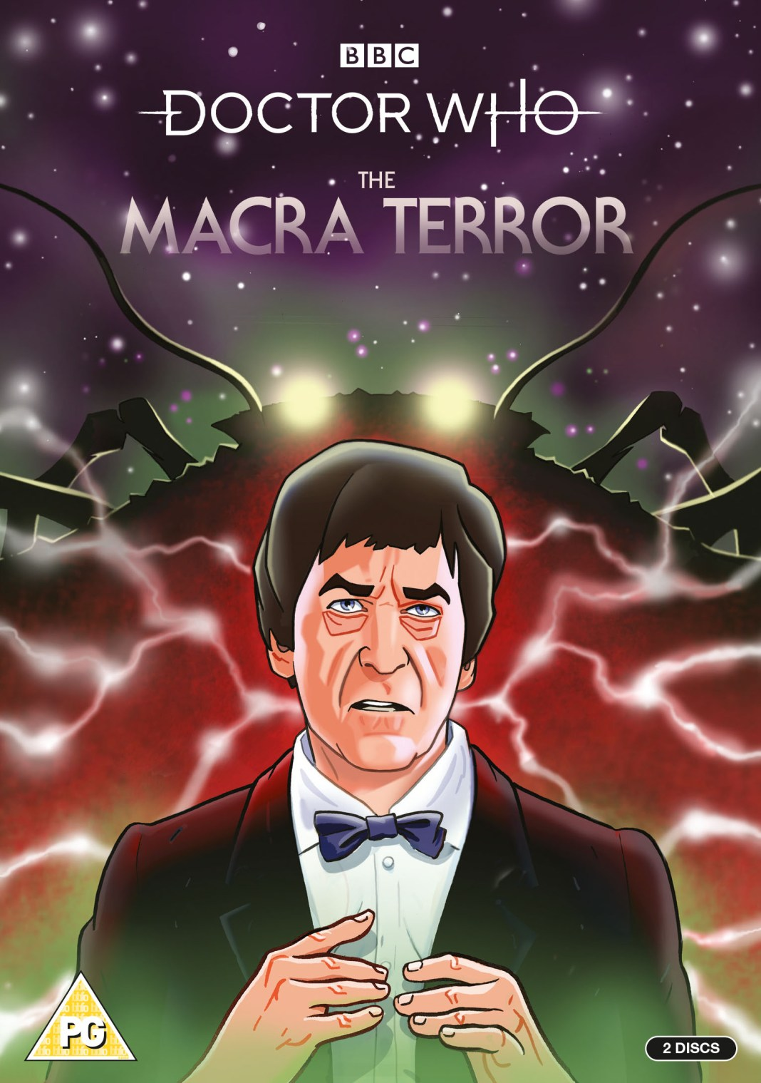 Doctor Who: The Macra Terror DVD cover (c) BBC Studios