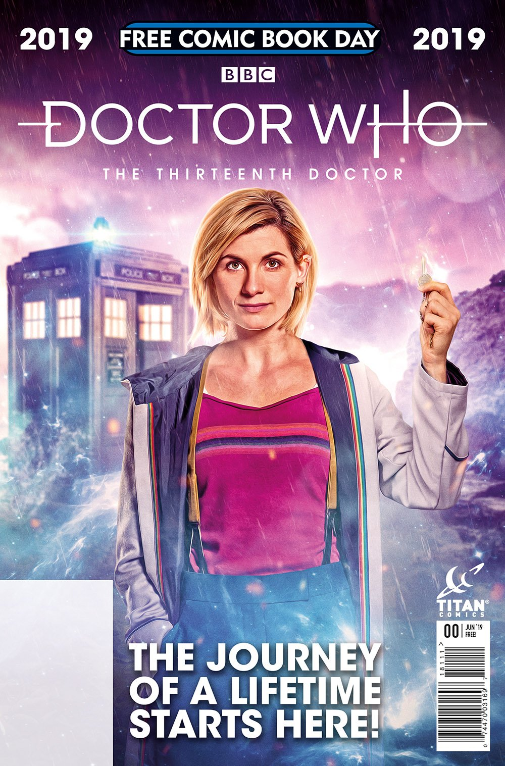 Titan Comics – Doctor Who: The Thirteenth Doctor – Free Comic Book Day 2019 – Cover