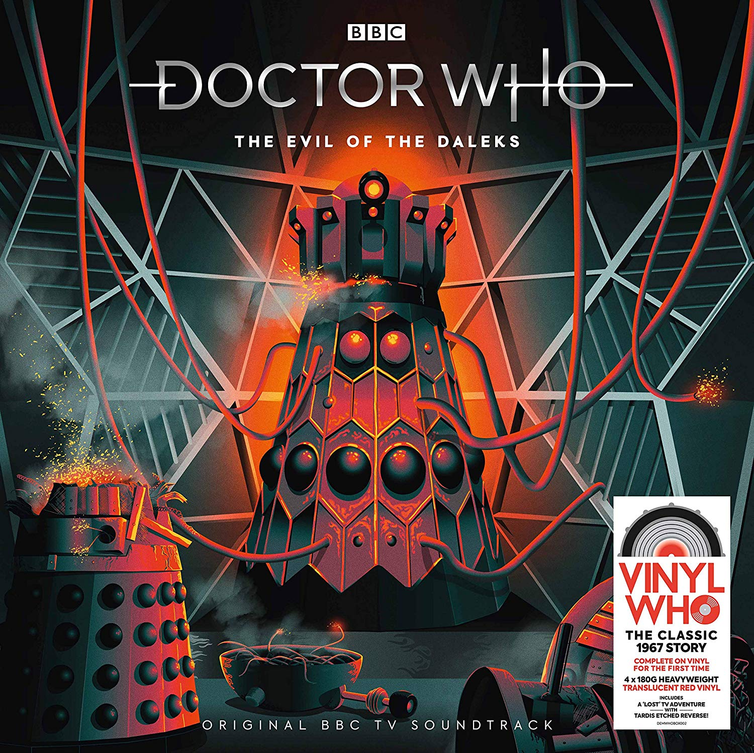 COMING SOON: The Evil of the Daleks on Vinyl - Blogtor Who