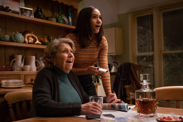 Years and Years - Episode 6 - Muriel (ANNE REID), Ruby (JADE ALLEYNE) - (C) Red Productions - Photographer: Matt Squire