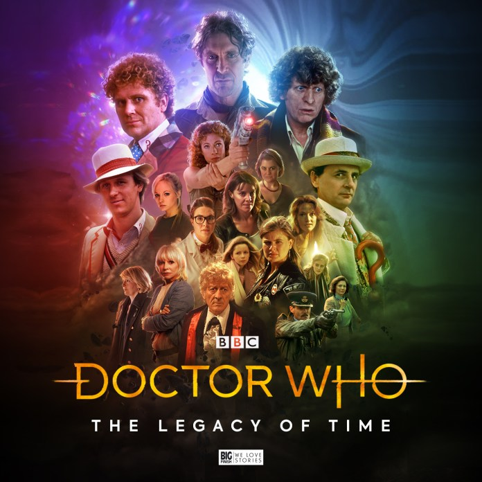 Cover to Doctor Who: The Legacy of Time by Tom Webster (c) Big Finish Productions