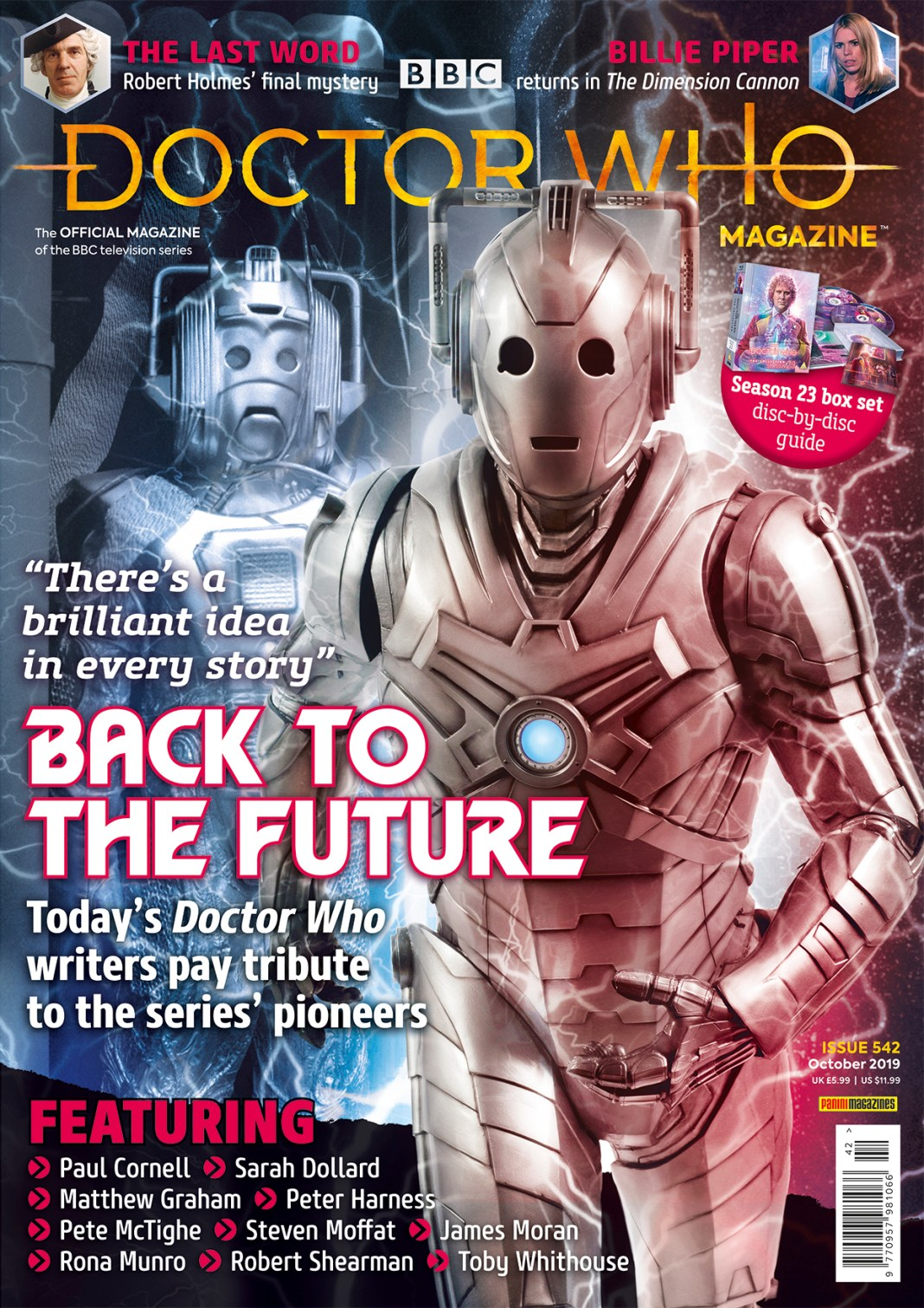 Doctor Who Magazine 542 Cover (c) Panini
